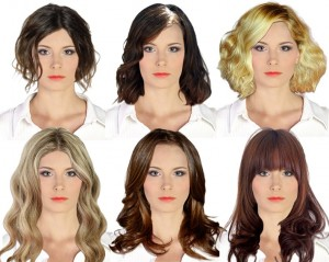 Hairstyles for triangular face type - Virtual Hairstudio | Virtual ...