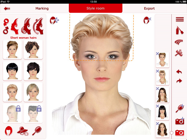adding hairstyles as favorite